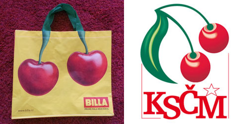 Billa bag-for-life bears unfortunate resemblance to Czech Communist party logo