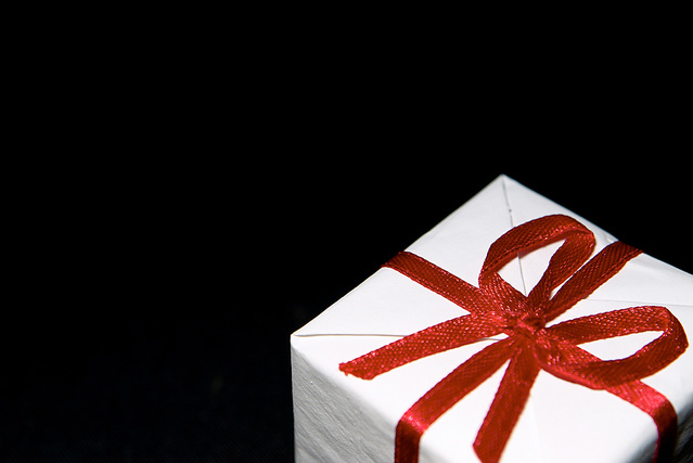 Stock photo of gift