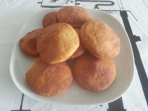 Levně a chutně doughnuts