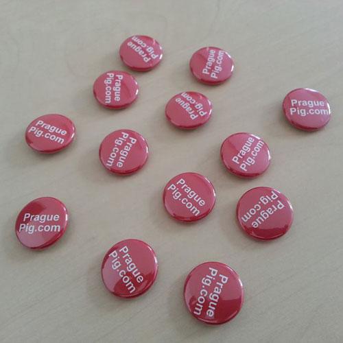 PraguePig.com badges