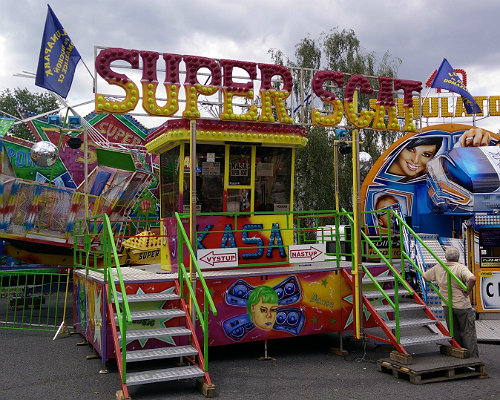 Photo of Super Scat fairground ride