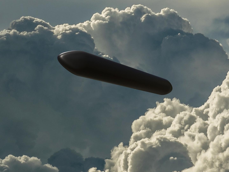 Illustration of Vranov nad Dyjí UFO