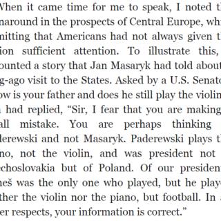 "An extract from the Madeleine Albright memoir ""Madam Secretary"""